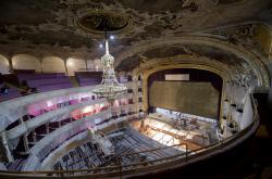 Rekonstrukce Státní opery (říjen 2017)