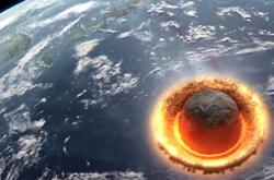 Simulace nárazu asteroidu