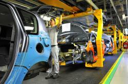 Výrobní linka PSA Peugeot Citroën
