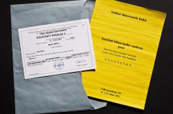 Voličský průkaz