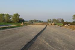 Rozestavěná dálnice