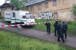 Policie zasahuje ve squattu Cibulka