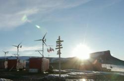 Polární základna na Antarktidě