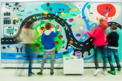 Děti v galerri
