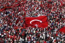 Shromáždění na náměstí Taksim