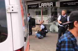 Policie útočníka na místě zadržela