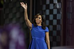 Michelle Obamová vyzdvihla Clintonovou jako pozitivní vzor pro děti