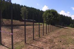 Památník romského holocaustu v Hodoníně u Kunštátu