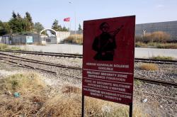 Turecko-syrská hranice ve městě Karkamis