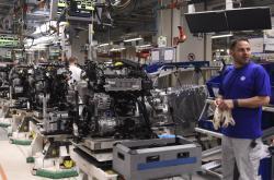 Produkce aut Volkswagenu ve Wolfsburgu