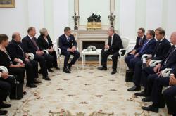 Jednání slovenské delegace v Moskvě