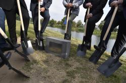 Před velkou vodou ochrání Břeclav hotová hráz za dva roky