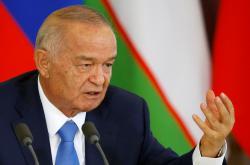 Uzbecký prezident Islam Karimov