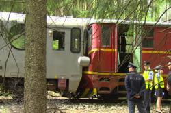 Na Pelhřimovsku se čelně srazily vlaky