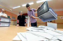 Sčítání hlasů začíná