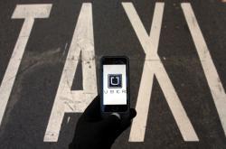 Uber a taxi