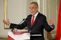 Rakouský prezident Alexander Van der Bellen