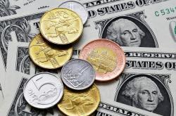 Koruny a americké dolary