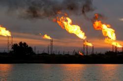 Těžba ropy v Iráku