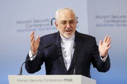 Mohammad Džavád Zaríf na bezpečnostní konferenci v Mnichově