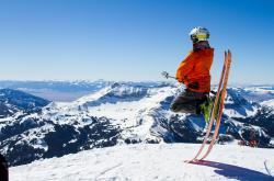 Lyžování v Alpách