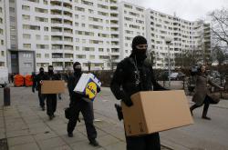 Zátah proti islamistům v Berlíně