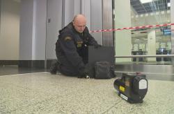 Bezpečnostní cvičení na pražském letišti