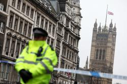 Policie v ulicích Londýna