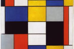 Kompozice, Piet Mondrian