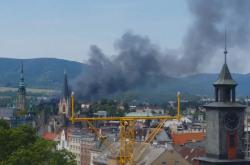 Požár v Liberci
