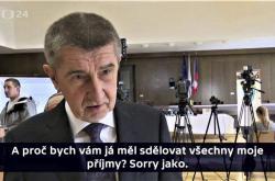 Andrej Babiš v reportáži Reportérů ČT