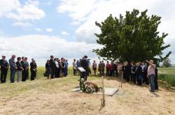 Pieta za oběti masakru na Švédských šancích