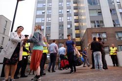 Evakuace v Londýně