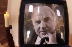 Kohlova fotografie vystavená v katedrále ve Špýru
