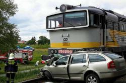 Vlaková nehoda ve Vracově