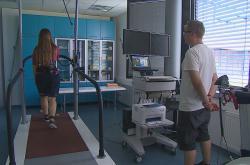 Měření chůze v Centru diagnostiky pohybu