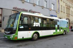 Centrem Hradcem Králové bude jezdit elektrobus