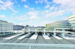 Nový vestibul Masarykova nádraží