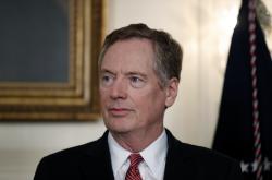 Americký vyjednavač Robert Lighthizer