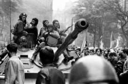 Sovětští vojáci v Praze 21. srpna 1968
