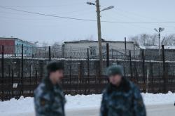 Vězení v ruské vesnici Segeža u finských hranic