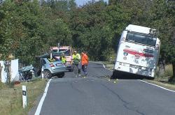 Tragická nehoda u Úhonic
