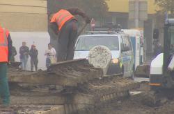 Opravy Křenové ulice komplikují dopravu