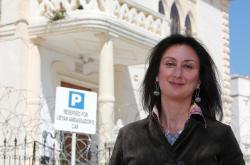 Daphne Caruanová Galiziová na snímku z roku 2011