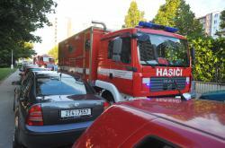 Dostat se k požáru není pro hasiče vždy jednoduché