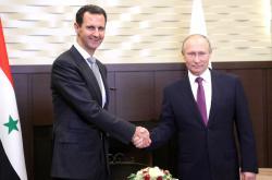 Putin se setkal s Asadem v Soči