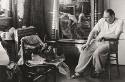 Josef Sudek / pohledy do ateliéru Emila Filly na pražské Ořechovce, 1939
