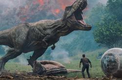 Snímek z filmu Jurský svět: Zánik říše