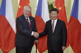 Miloš Zeman se Si Ťin-pchingem