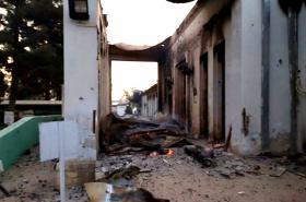 Nemocnice MSF v Kunduzu po náletu